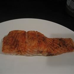 Cold Roasted Moroccan Spiced Salmon