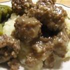Sauerbraten Klopse (Sauerbraten Meatballs)