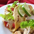 Recipe: Lime Chicken Soft Tacos