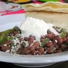 Mexican Pintos With Cactus
