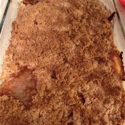 Easy Peach Crisp II