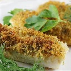 Cod with Italian Crumb Topping