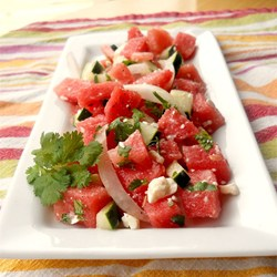 Refreshing Watermelon Salad