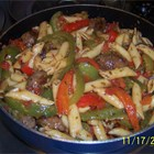 Mama Corleone's Sausage and Peppers