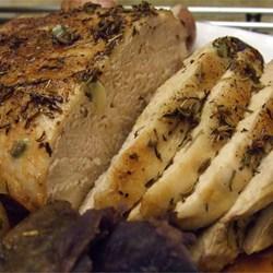 Pork Roast with Thyme