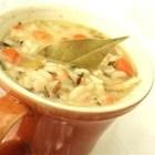 Smoked Turkey Wild Rice Soup
