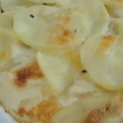 Chef John's Truffled Potato Gratin