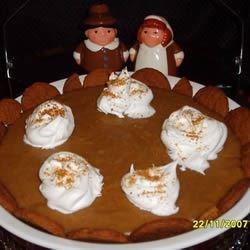 Dad's Pumpkin Chiffon Pie