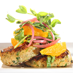 Crabmeat Cakes with Worcestershire Sauce