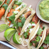 Asian-style Tacos With Fish and Napa Cabbage Salad