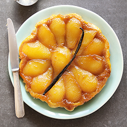 Caramelized Pear Tart Tatin