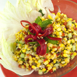 Mexican Salad with Corn