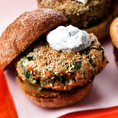 Recipe: Salmon Burger