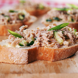Recipe: Sicilian Tuna Bruschetta