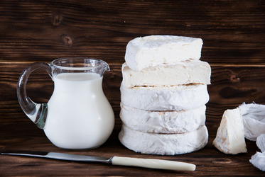 Some milk products are heavier than others, so measure out the portions correctly