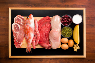 Animal proteins should be consumed in different amounts