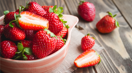 Hurry up to enjoy strawberries - their season is short