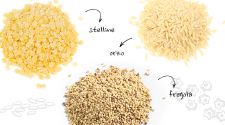 Miniature pasta adds wonderful texture to stews, soups and pasta-based salads