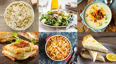 The number of recipes featuring cheese is innumerable!