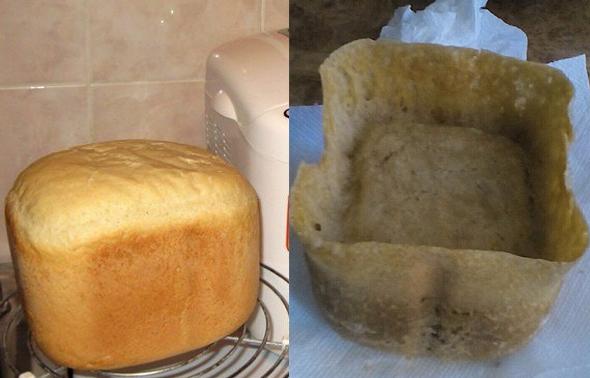 Homemade bread fail