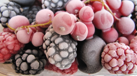 Pop some berries in the freezer to treat yourself to a delicious dish throughout the year