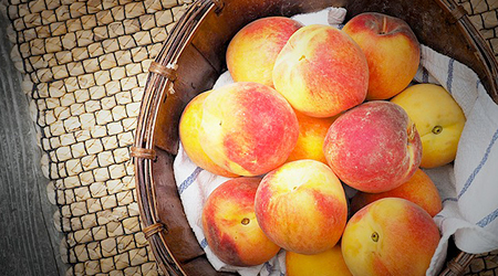 A single peach contains more than 20 various micro and macronutrients