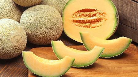 Cantaloupe is loaded with potassium, fiber, vitamin C and beta-carotene.