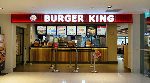 Burger King hall