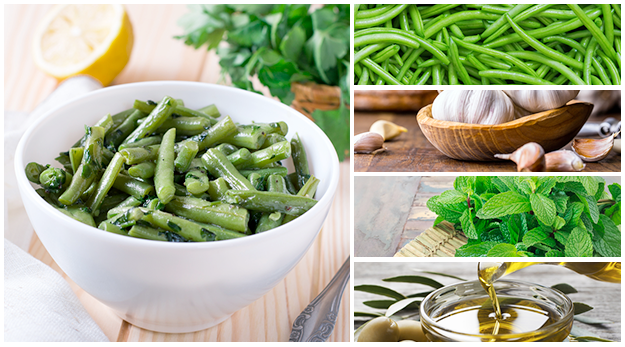 Green Bean with Mint Salad is a great alternative to Green Bean Casserole