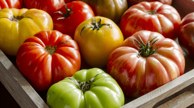 Heirloom tomatoes are the best topping for tomato toast