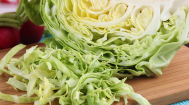 Cabbage can be shredded into a nice fresh slaw, braised to soup up your broth, or steamed till tender.