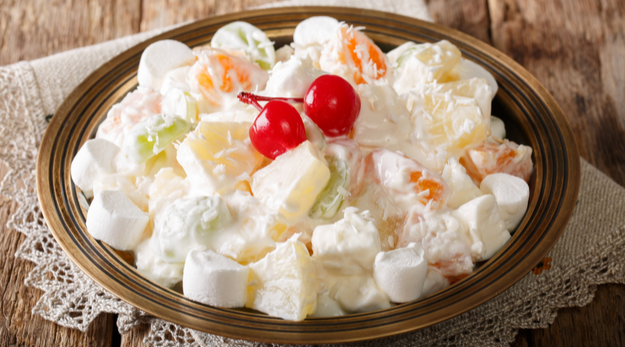 Orange watergate salad