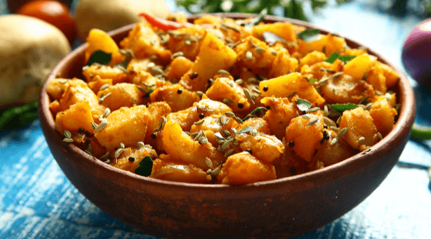 authentic potato curry