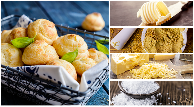 Get the recipe for Cheese Puffs