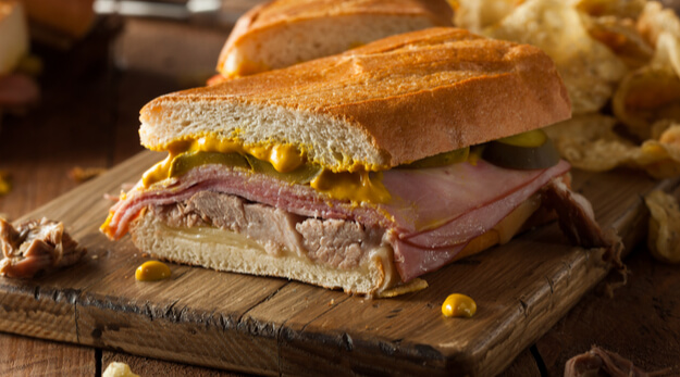 medianoche cuban sandwich